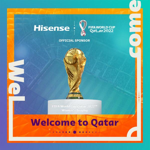 Hisense เป็นผู้สนับสนุนอย่างเป็นทางการของการแข่งขันฟุตบอล FIFA World Cup Qatar 2022(TM)