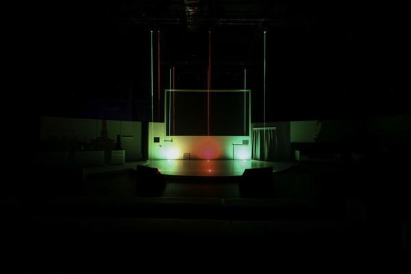 CADR(红)与POLAR(绿)测试实验舱空间对比