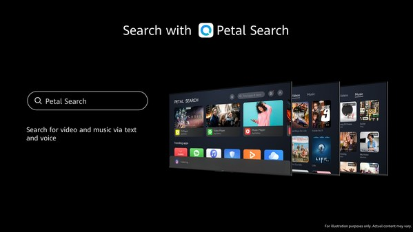 HUAWEI Vision S Series with Petal Search