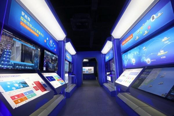 An artificial intelligence company in Xiamen, East China's Fujian province.