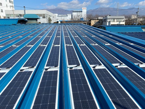 Sunport Power의 유연한 모듈이 장착된 일본 최초의 오프-그리드 태양광 PV 프로젝트