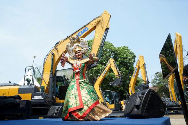 XCMG จัดไลฟ์สตรีมจากอินโดนีเซีย โชว์ประสิทธิภาพการทำงานอันยอดเยี่ยมของเครื่องจักรสั่งผลิตพิเศษ