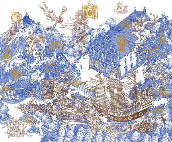 馬若龍是澳門最受歡迎的本土藝術家之一。他專門為澳門雅辰酒店設計了以《幸福的澳門人》為主題的藝術品:一系列精美而做工複雜精細的藝術組件為酒店接待處增添了瑰麗的背景。透過這幅絢麗的作品,他描繪出澳門充滿活力的跨文化景觀。