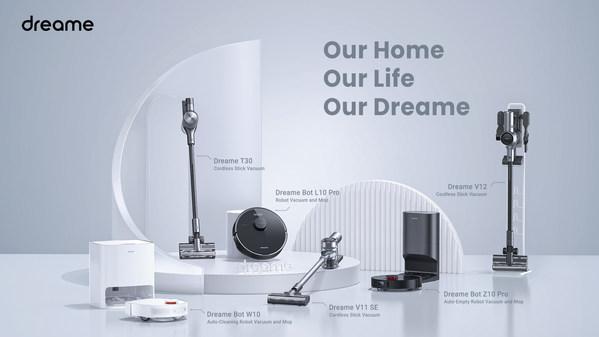 Dreame, 5월 8일 차세대 스마트 홈 청소 제품 출시 예정