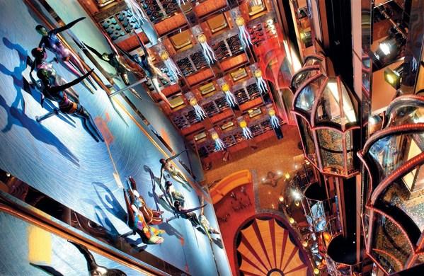 大西洋号及地中海号满载意大利艺术经典,为宾客带来地道浓醇的意式风韵