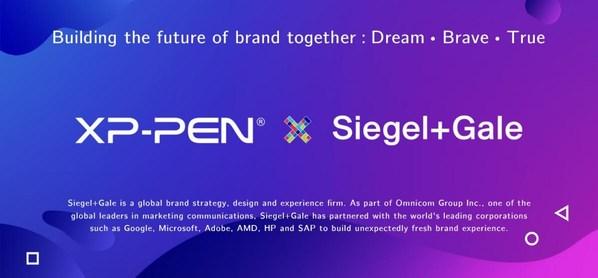 XP-PENとSiegel+Galeの協力は、共にブランドの未来を構築することを目標としている (PRNewsfoto/)