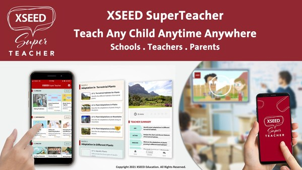 XSEED SuperTeacher Now Available In App Stores For Free Trial Download - Teach Any Child Anytime And Anywhere