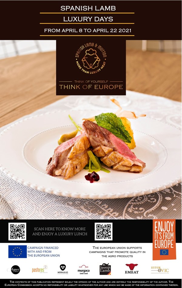 AGNEI IBERICO CONQUERS HONG KONG PALATES DURING SPANISH LUXURY LAMB PROMOTION