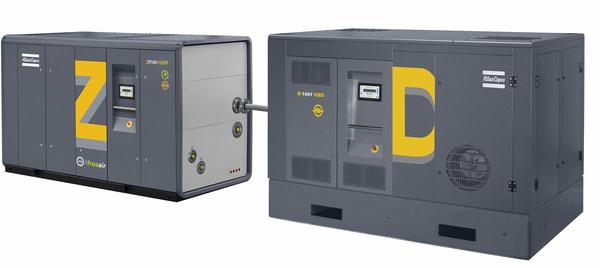 阿特拉斯科普柯ZD无油螺杆式压缩机全系列产品实现本地化生产