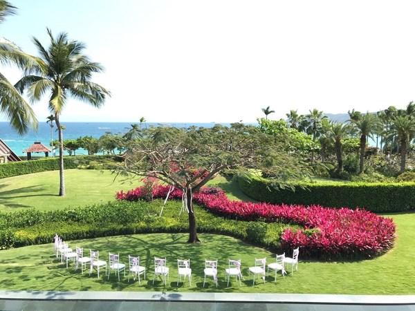 三亚亚龙湾万豪度假酒店发布别墅轻奢婚礼套餐