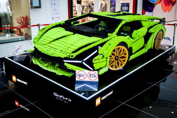 3:4比例还原的 Lamborghini Sian FKP 37 3D 模型
