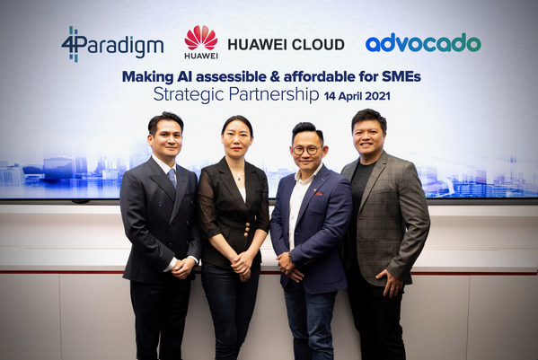 Advocado Partners HUAWEI CLOUD And 4Paradigm AI To Roll Out First-of-its-Kind AI Enabled CRM For SMEs Across SEA