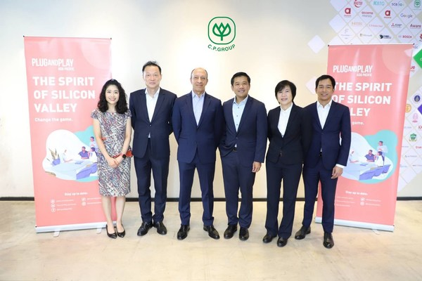 Thailand's Charoen Pokphand (C.P.) Group announces partnership with Silicon Valley-based Plug and Play to drive positive global impact through innovation