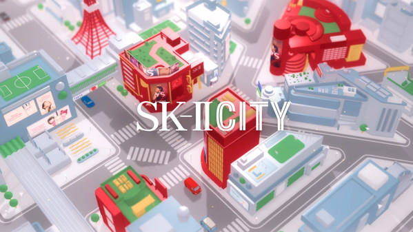 Welcome to the SK-II CITY: SK-II Builds Virtual City to Bring Tokyo to the World for the Launch of Its New 'VS' Series