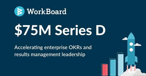 WorkBoard 在 D 輪融資中募集7,500萬美元