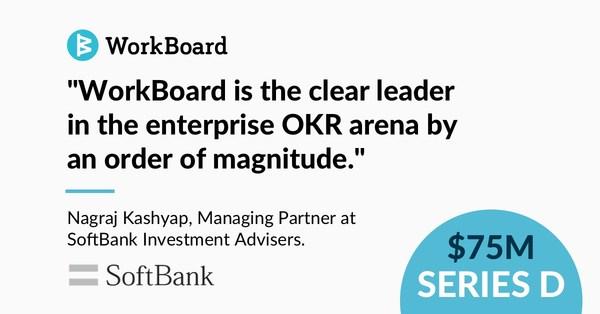軟銀願景基金二期領投 WorkBoard 的 D 輪融資