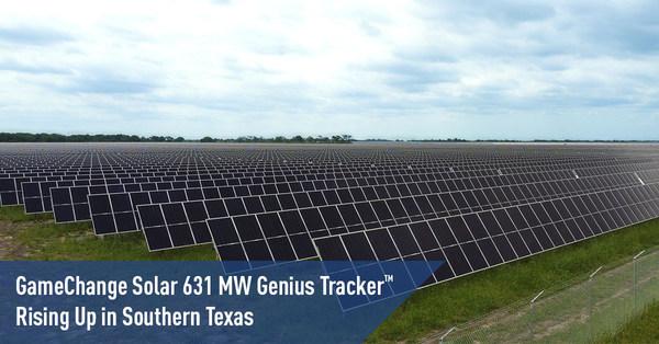 GameChange Solar 631 MW Genius Tracker™ Rising Up in Southern Texas