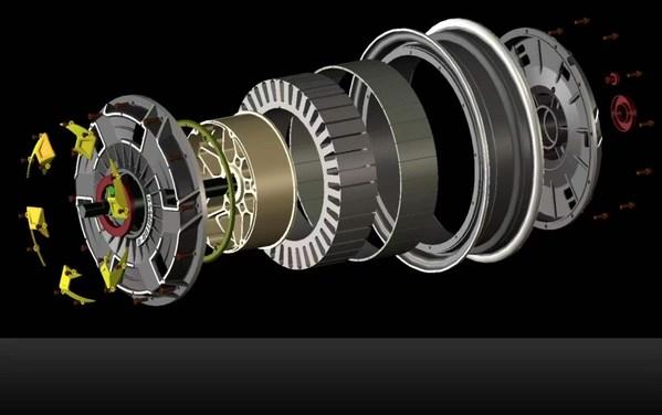 自主设计的电动机