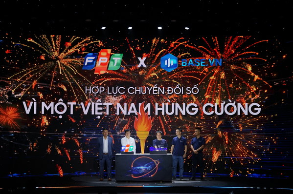 FPT Corp and Base.vn empower to accelerate digital transformation for 800,000 Vietnamese enterprises