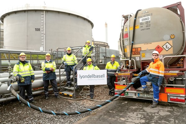 LyondellBasell เริ่มผลิตพอลิเมอร์เชิงพาณิชย์โดยใช้วัตถุดิบจากขยะพลาสติก