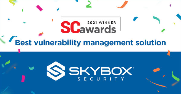 Skybox Security wins Best Vulnerability Management Solution.
