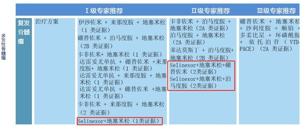 德琪医药塞利尼索片(Selinexor)多项治疗方案获最新CSCO指南推荐