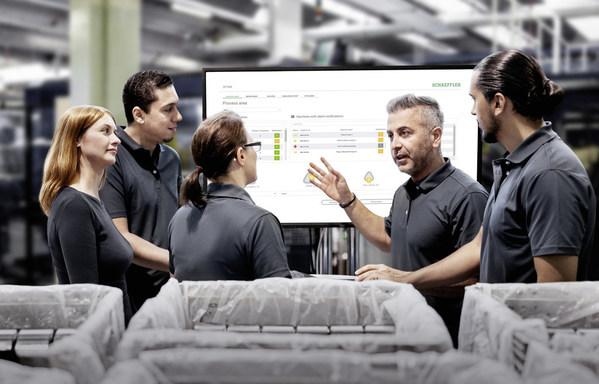 分析系统支持所有舍弗勒状态监测解决方案,确保数周的预警时间,并提供具体的建议。因此,内部维护人员甚至服务公司都能及时且经济高效地规划维护措施、人员安排以及采购替换部件。