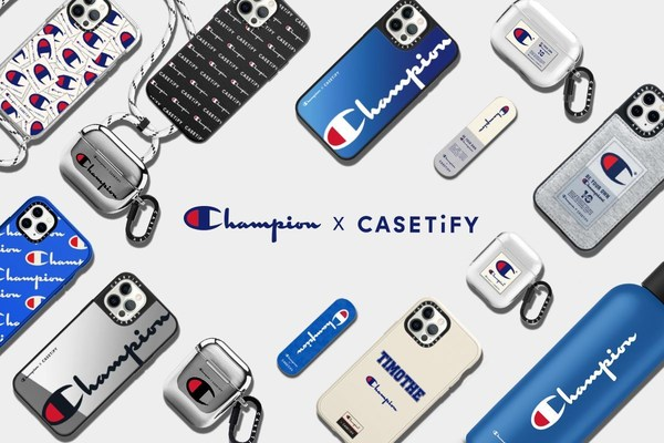 CASETiFY Launches Sporty Capsule Collection with Champion® Athleticwear