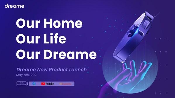 Dreame Technologyが5月8日にスマートホーム掃除機をストリーミングで発表