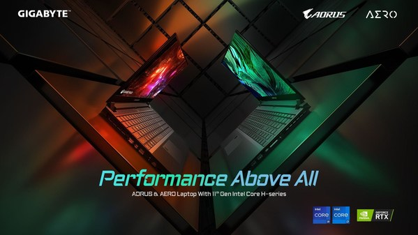 Pre-Orders of GIGABYTE Laptops Set Unprecedented Records Fueled by Tiger Lake processors Hype