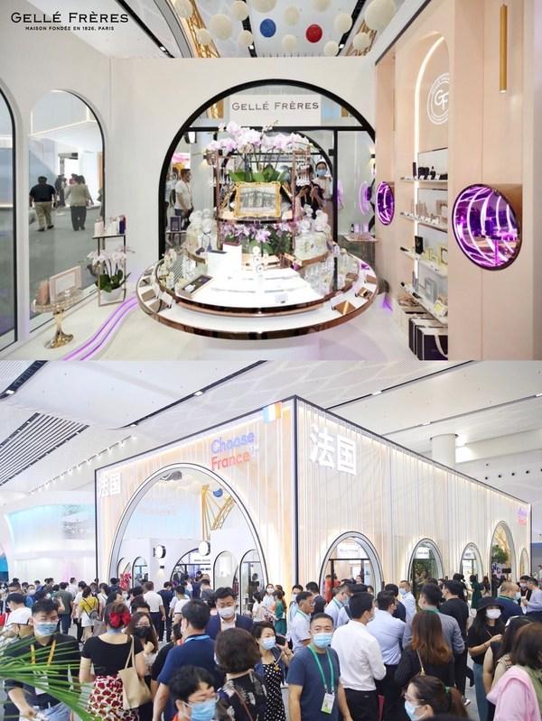 GF法国婕珞芙代表法国参展首届消博会,深化品牌理念抢滩亚洲市场