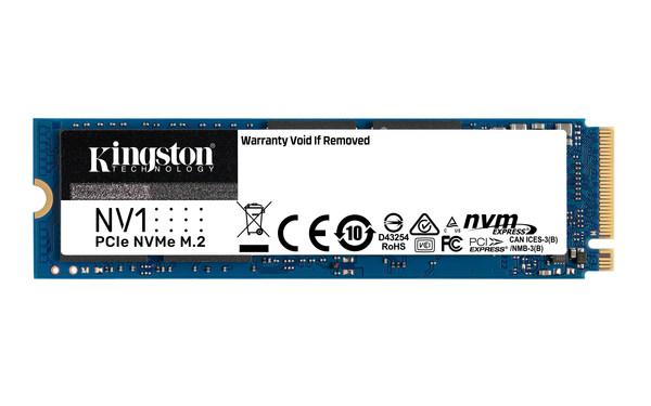Kingston, 한국에서 NV1 NVMe PCIe SSD 출시