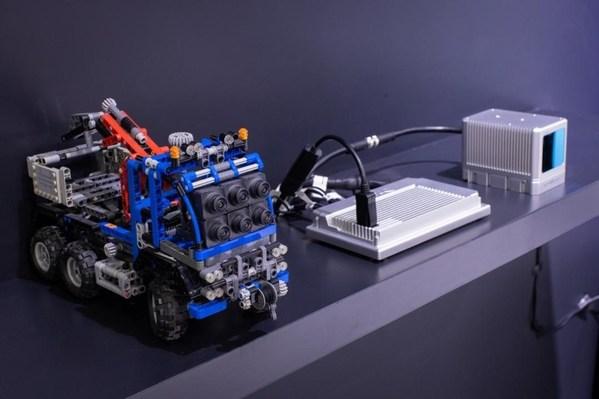 追势科技在展台上展示的基于TDA4的现场demo
