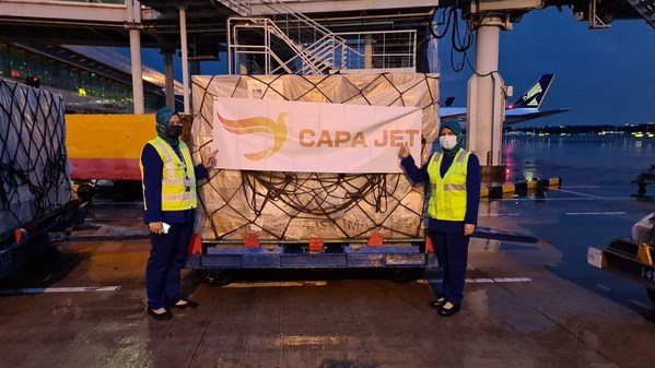 CapaJet Plays Essential Role in Pandemic, Crosses Milestone of 100,000 Repatriations