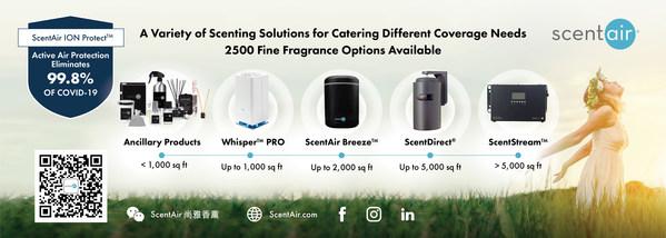 全球香氛營銷領導者 ScentAir尚雅香薰協助品牌提升顧客體驗
