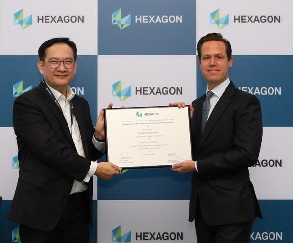 Hexagon เปิดศูนย์นวัตกรรมการผลิตอัจฉริยะในสิงคโปร์