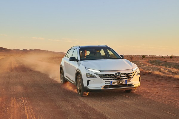 Australian Hyundai NEXO breaks world distance record