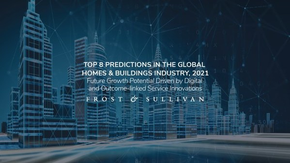 Frost & Sullivan Reveals 8 Predictions for the 2021 Homes & Buildings Industry