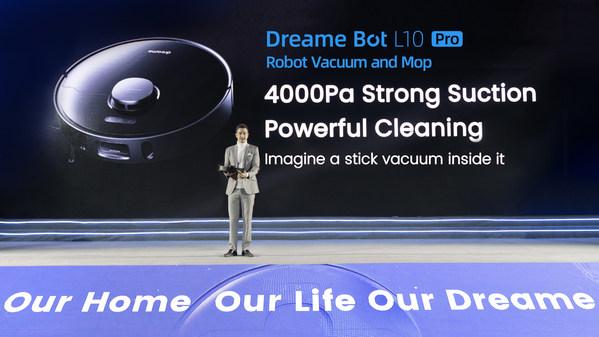 Dreame Technologyが新しいスマートホーム掃除機シリーズの世界発表に成功