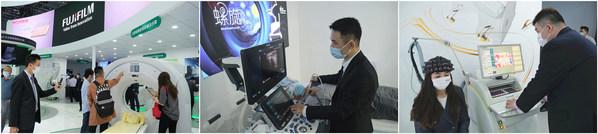 在CMEF 2021现场,富士胶片首次介绍了旗下计算机断层摄影解决方案、超声诊断摄影解决方案和脑功能成像解决方案