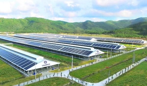 Vinamilk生态友好型农场系统将部署太阳能