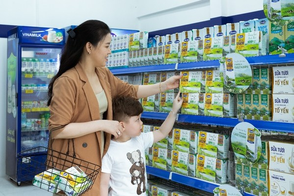 Vinamilk, 세계 50대 주요 유제품 기업 순위에서 여섯 단계 상승