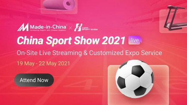China Sport Show Disclose the New Trend of Fitness, Made-in-China.com to Hold On-site Live Streams