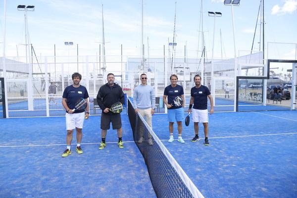 IFDA的众多传奇球星在佩斯卡拉一起参与了网球大赛活动