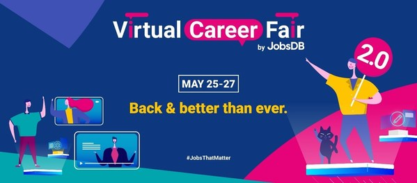 JobsDB re-launches 'Virtual Career Fair'