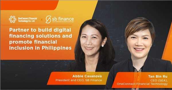 SB Finance partners with OneConnect Financial Technology to roll-out cloud based financial technology