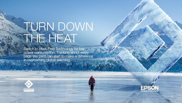 Epson Partners with National Geographic to Encourage Consumers and Businesses to Turn Down the Heat in the Fight against Climate Change