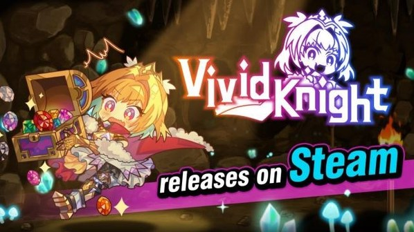"""Launching of Party-building Roguelike Adventure Game """"Vivid Knight"""" Steam Release, on May 27th, 2021"""