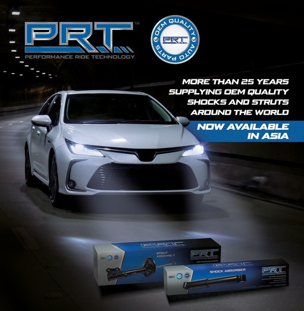 Premium Struts and Shocks brand PRT already making waves after SEA launch