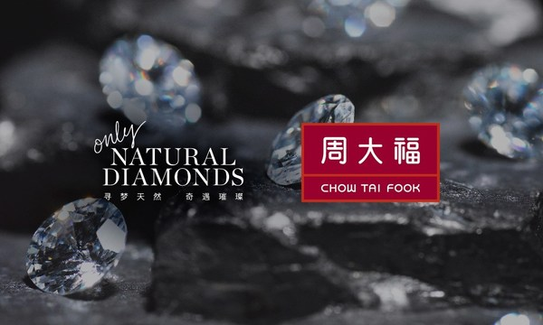 Natural Diamond Council Announces Strategic Partnership with Chow Tai Fook Jewellery Group to Promote the